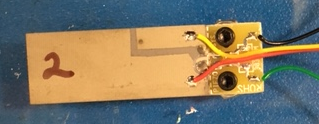 top view of the vibration damping module