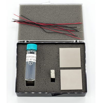 piezo kit  with solder flux
